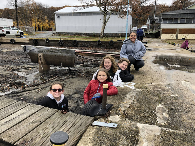 Girl Scouts from Troops 95611, 96119 and 96078 tackled cleanups at Mount Arlington Beach and Lee's County Park Marina..jpg