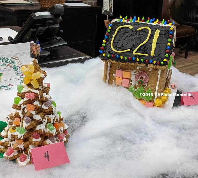 Gingerbread creations at Century 21 ©2019 TAPinto Montville.jpg