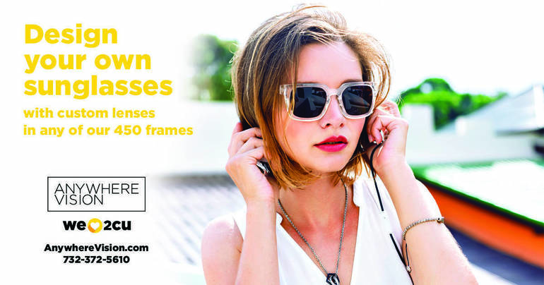 Design Your Own Sunglasses with Anywhere Vision