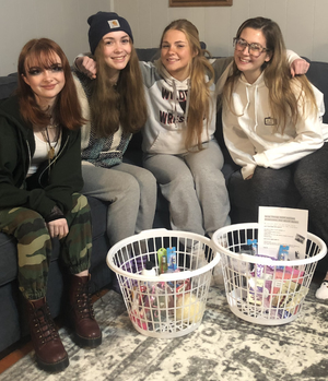 Newton Girl Scout Troop Asks Community's Assistance as They Go for Gold