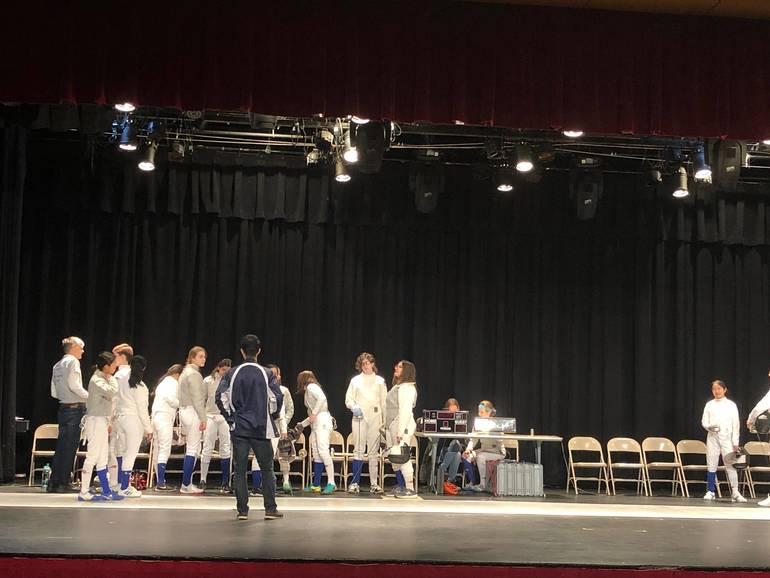 GL Fencing team take center stage on Super Saturday.JPG