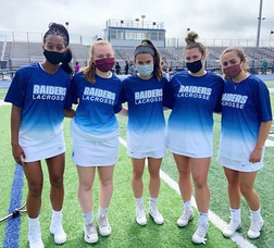 Scotch Plains-Fanwood girls lacrosse team celebrated their graduating players on Senior Night.