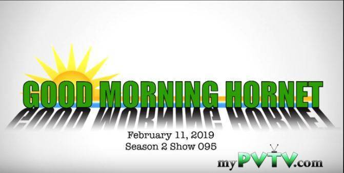 Good Morning Hornets 02 13.2019.JPG