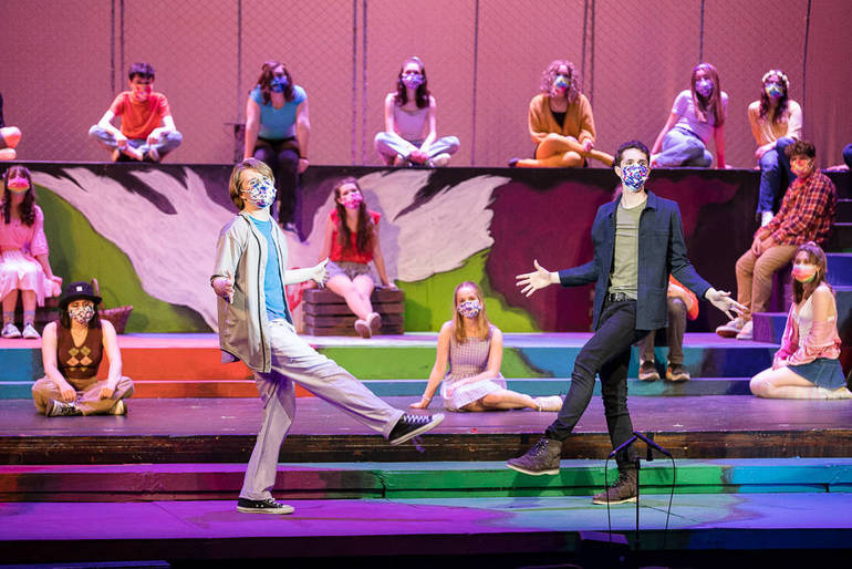 Student Stars to be Streamed in Westfield High School Production of 'Godspell'