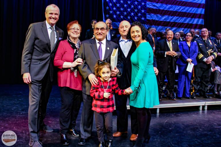 Gov. Murphy, Freeholder Lepore and Lepore Family.jpg