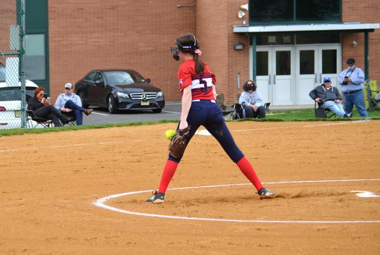 Gov. Livingston pitcher Kayley Zazzali.