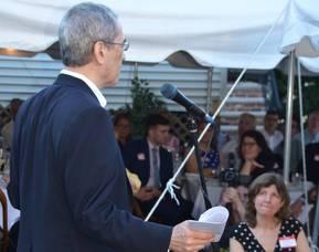 Gordon Chang speaks to Madison Republican Committee June 15, 2021 at Shanghai Jazz, Madison, NJ