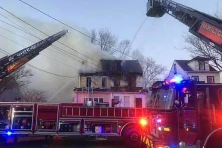 Community Raises $25K for Hamilton Family After Suspicious Fire Destroyed Their Home