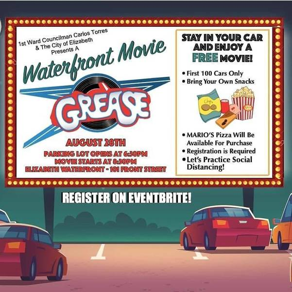Waterfront Movie Flyer