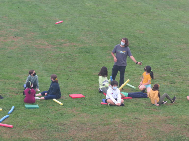 Wardlaw+Hartridge Fifth Graders   Enjoy Bonding on Leadership Day