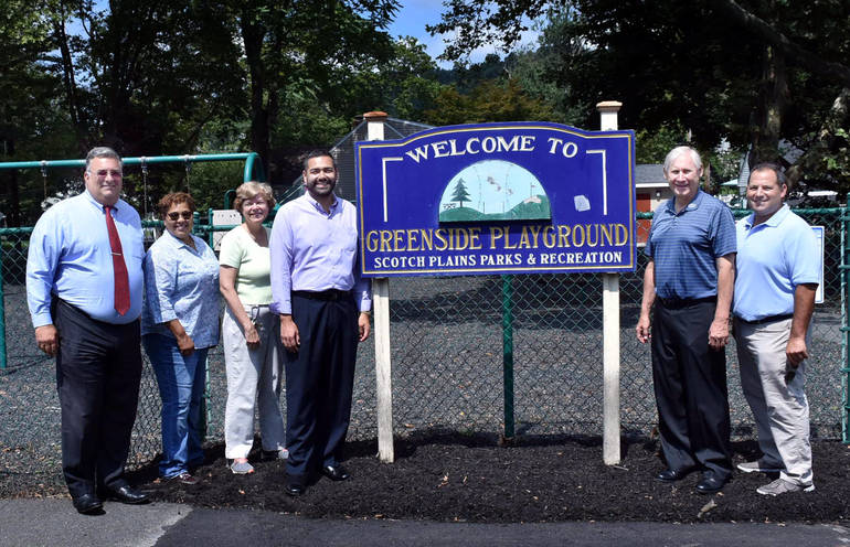 Greenside Park in Scotch Plains reopens
