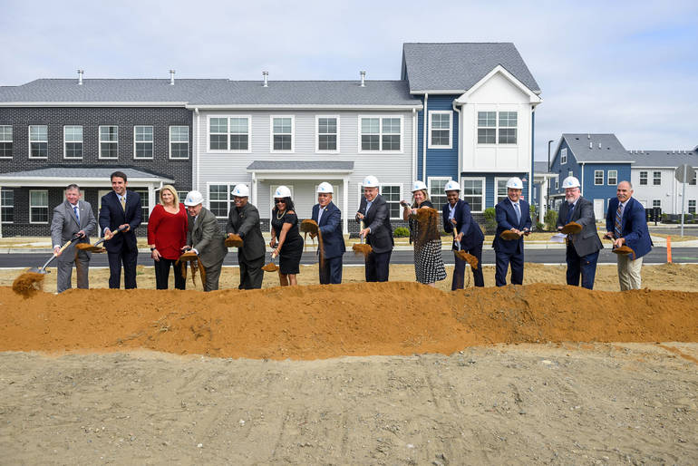 Camden Breaks Ground on Next Phase of Branch Village Affordable Housing