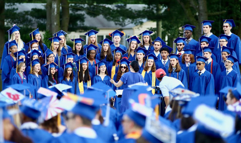 Scotch Plains-Fanwood High School graduation 2019