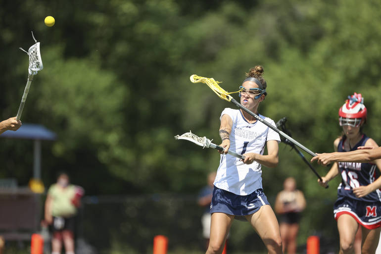 Chatham Girls Lacrosse Wins 14th Straight to Take North Group 3 Title, 12-11 over Mendham; Moorestown Next in Group 3 Final
