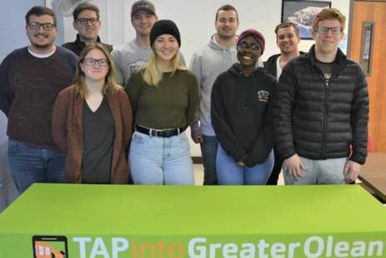 TAPinto Featured Franchisee:  Professors Rich and Anne Lee of TAPinto Greater Olean