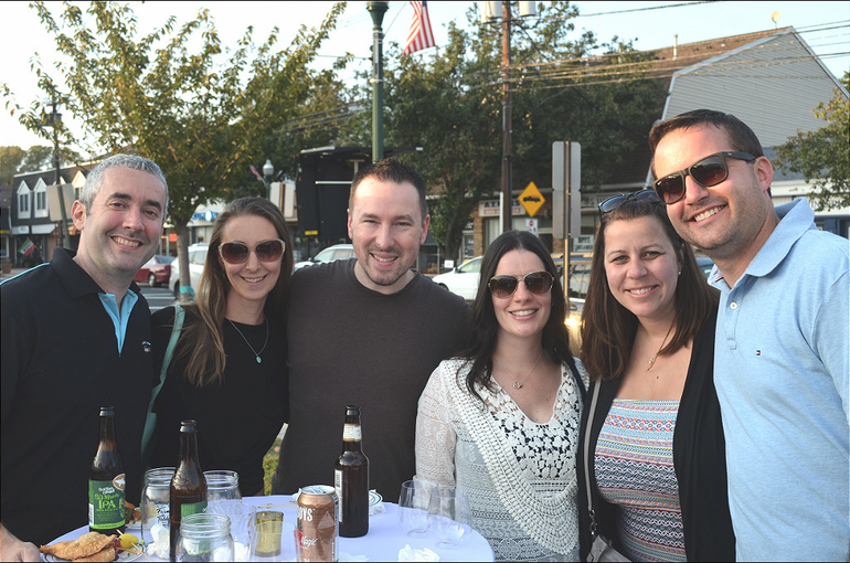 """Scenes from the Scotch Plains Market's """"From Farm to Table"""" fundraiser."""