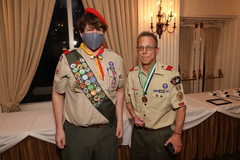 Local Boy Scout Leader Receives Asian American Spirit of Scouting Service Award