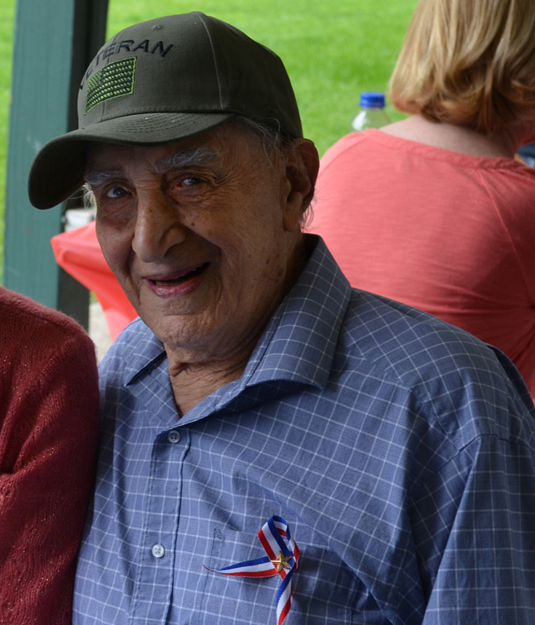 Scotch Plains resident and WWII veteran Gregory Ruffa.
