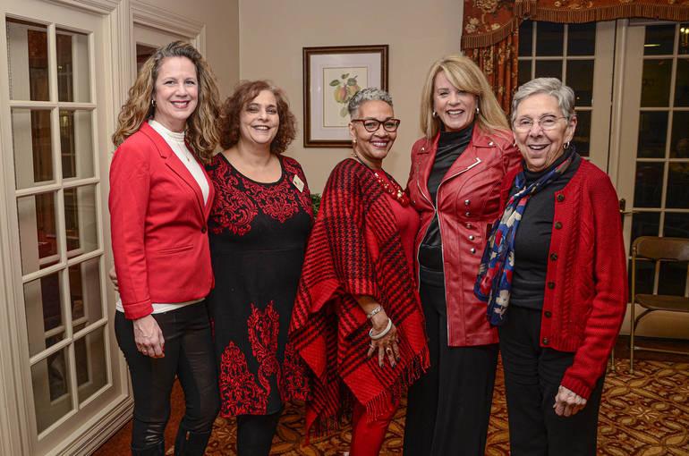 Fanwood Chelsea Ladies in Red
