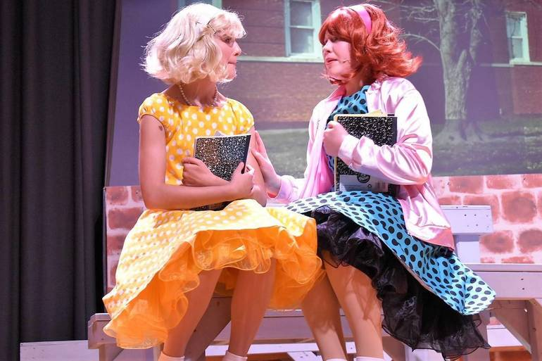 Valleyview Middle School Players Present 'Grease' the Musical