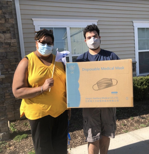 2,000 Masks Donated to Grace Wilday Junior High School