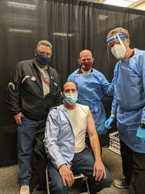 Livingston Police Officers Receive Vaccine, Encourage Others to Follow Suit