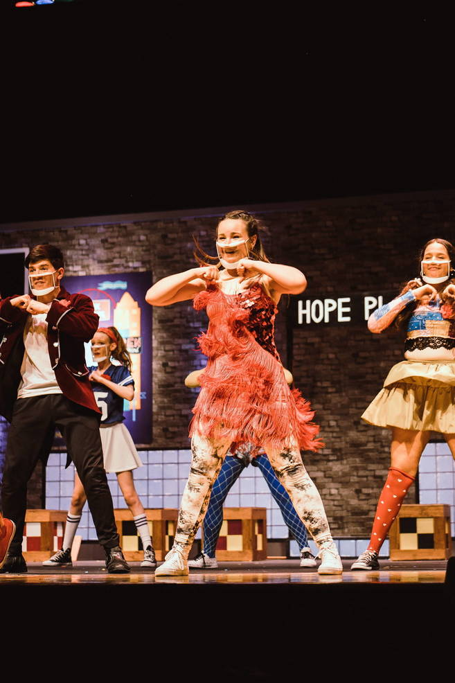 Morris Knolls Drama Students Holds Virtual Musical Production of 'Godspell'