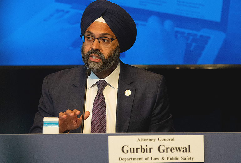 Gurbir Grewal, NJ Attorney General - Pool photo by Joe Lamberti.png
