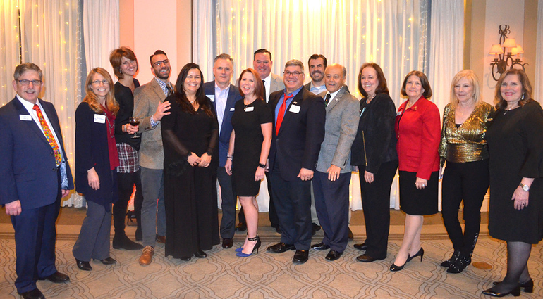 GWACC Group Shot at the GWACC Holiday Party held at Shackamaxon Country Club in Scotch Plains.