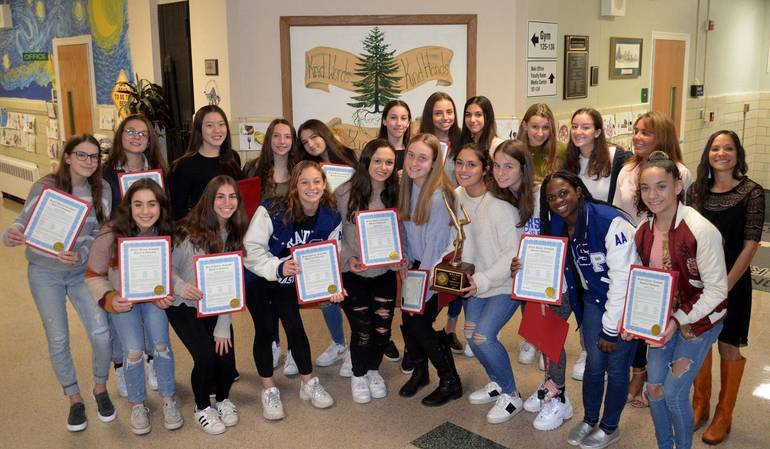 The members of the Scotch Plains Fanwood High School gymnastics team are this week's Joint Motion Physical Therapy Athletes of the Week.