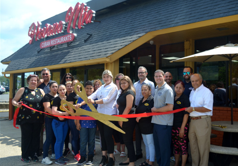 Ribbon-cutting at Havana Mia on Route 22 in Scotch Plains on Friday, July 19, 2019