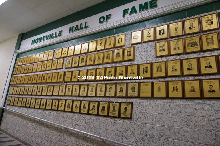 Hall of fame at MTHS ©2019 TAPinto Montville.JPG