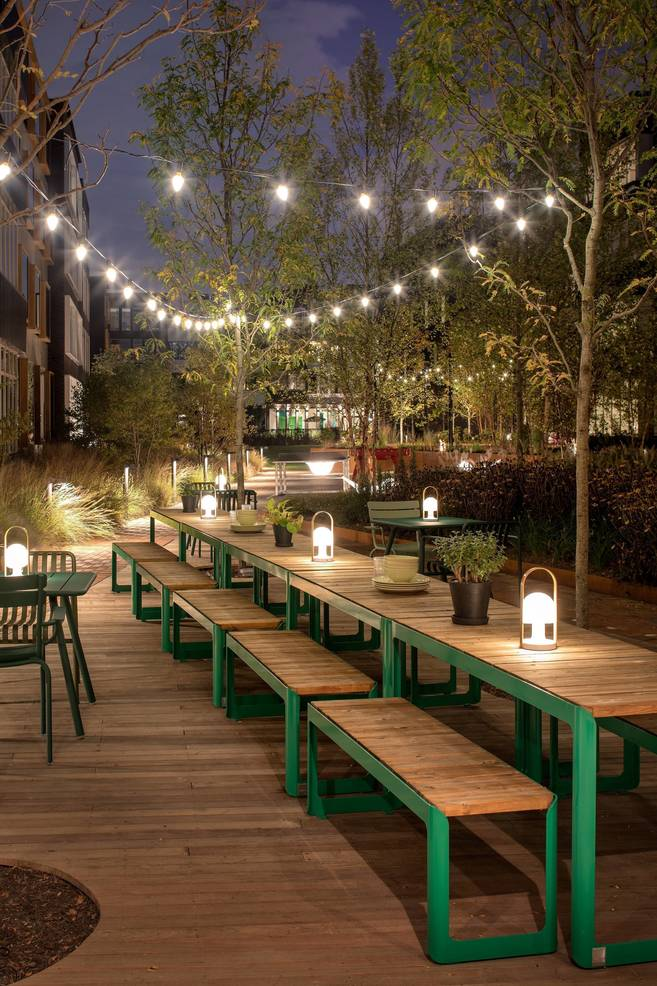 Harrison Urby Communal Kitchen Outdoors