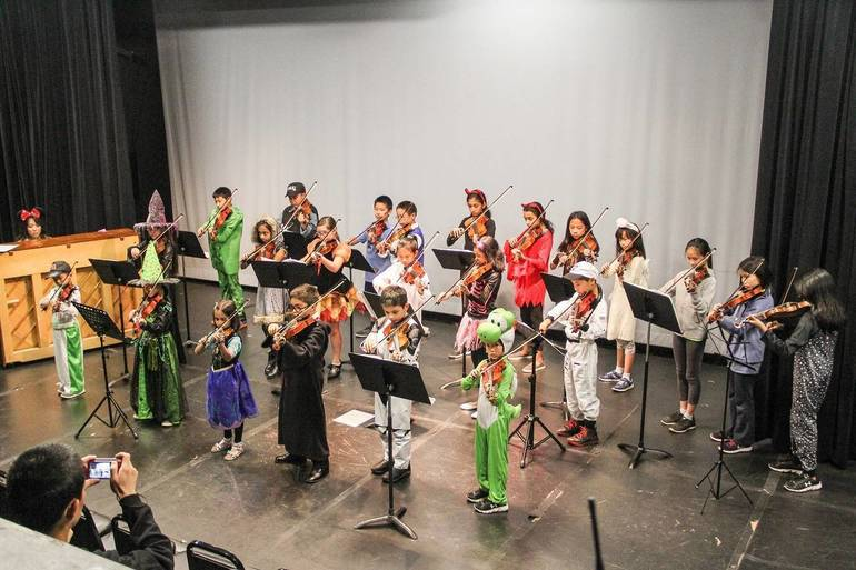 Performing Arts School Holds Halloween Event Monday, October 29
