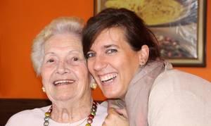 Carousel image 07e12987b87b4b890c05 happy grandma and granddaughter posing together family love