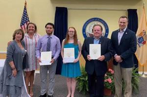 Three Hamilton Township Seniors Awarded College Scholarships to Pursue Business Education