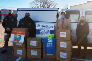 Habitat for Humanity Donates 7,000 N95 Masks to County OEM
