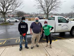 Habitat for Humanity Donates Critical Masks to Mercer County OEM