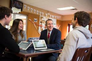 Carousel image dc115374d58782c8d7ac harvey school head bill knauer with students