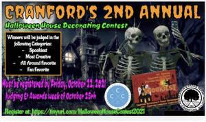 Cranford's 2021 Halloween House Decorating Contest