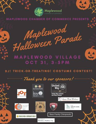 Maplewood Halloween Parade 2020 Chamber of Commerce Sponsors Maplewood Halloween Parade   TAPinto
