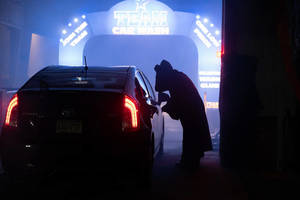 Play Theater's 'Haunted Car Wash' Features Screams, Soap, and Silliness Weekends in October