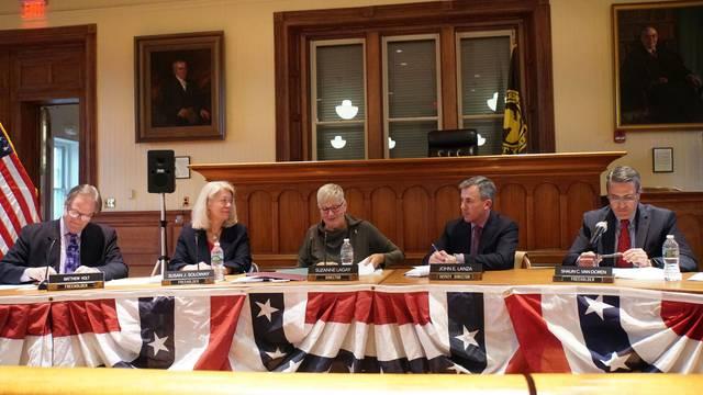 Hunterdon Freeholders Tout County Budget's 'Flat Tax Rate