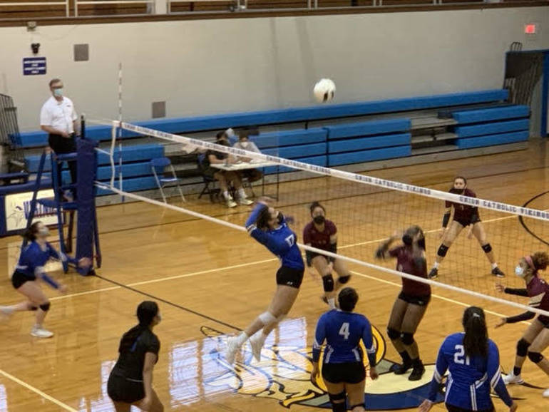 Volleyball: Union Catholic Defeats Dayton in First Round of Union County Tournament
