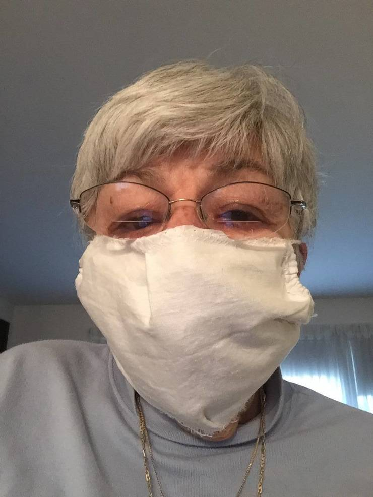 Video Local Sewer Offers Tips For Homemade Masks Tapinto