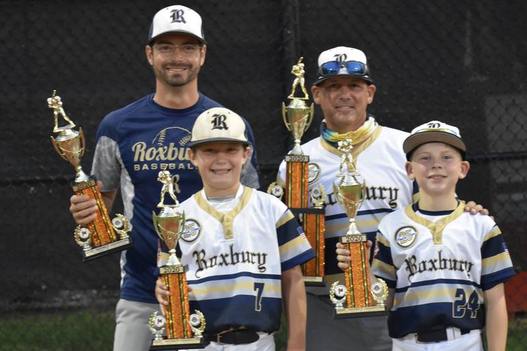 Head Coach and Assistant Coach- 2 sons who scored the 2 runs to win game.JPG