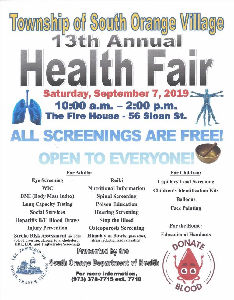 Health Fair  South Orange 2019.jpg