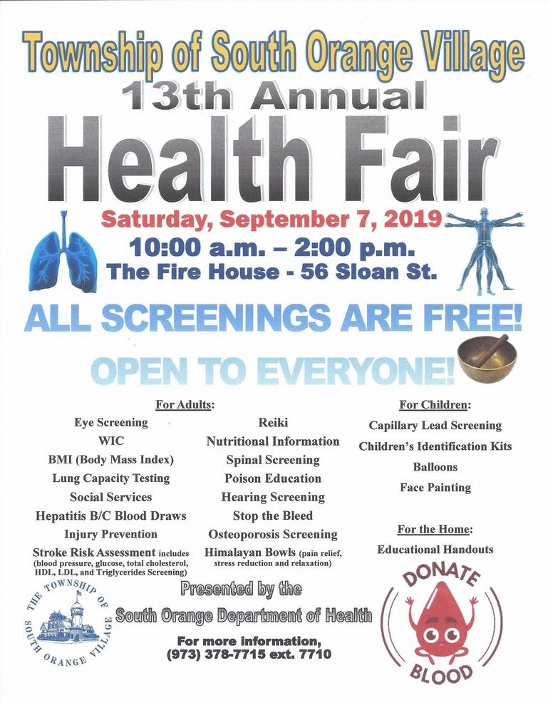 Health Fair  South Orange 2019.jpg