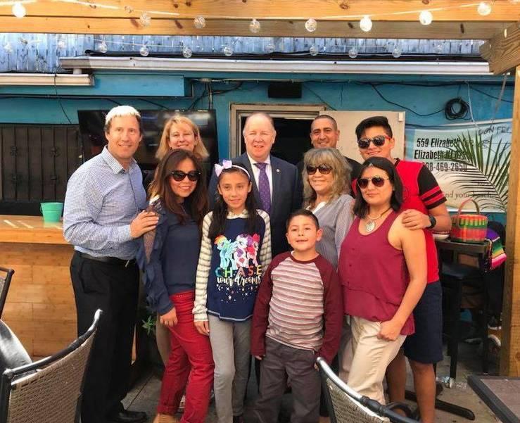 Hispanic Heritage Month 17 - Nelly Family at Don Felix.JPG