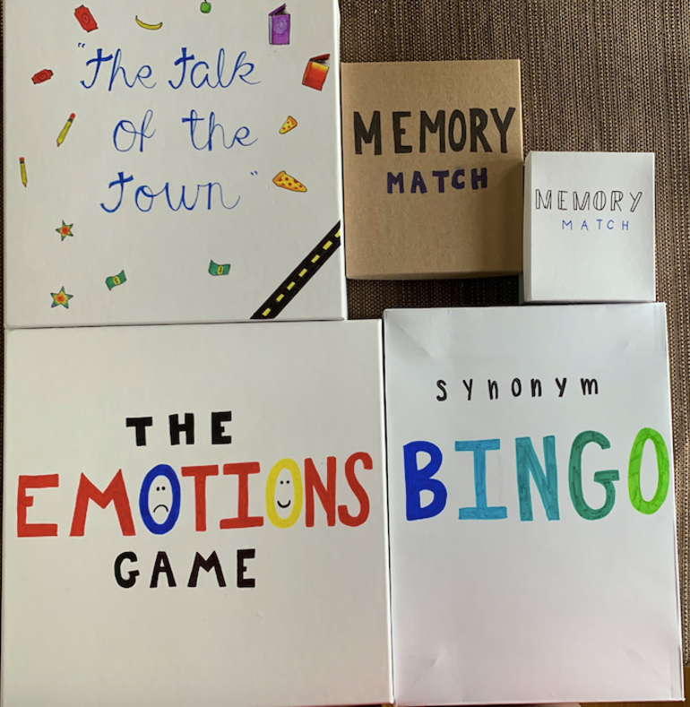 Hillsborough Girl Scout Creates Literary Games for ESL Students